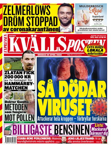 Kvällsposten April 29, 2020 00:00