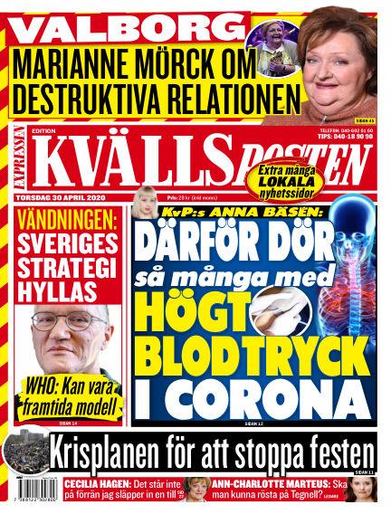 Kvällsposten April 30, 2020 00:00