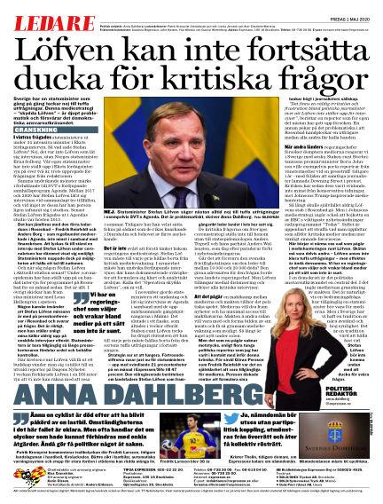 Kvällsposten May 01, 2020 00:00
