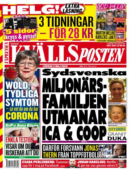 Kvällsposten May 02, 2020 00:00
