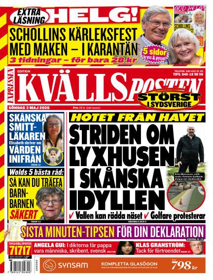 Kvällsposten May 03, 2020 00:00