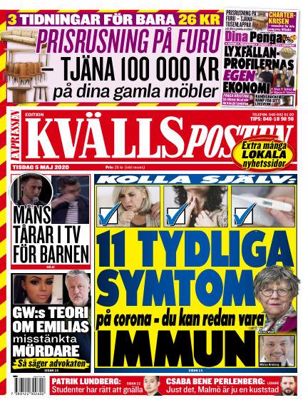 Kvällsposten May 05, 2020 00:00