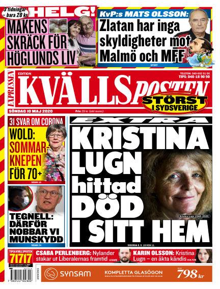 Kvällsposten May 10, 2020 00:00
