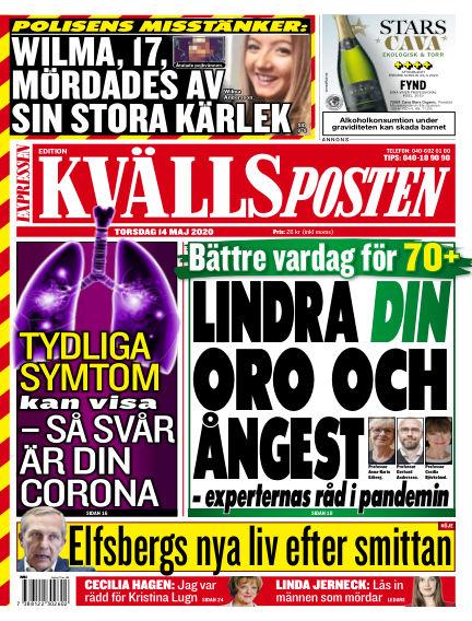 Kvällsposten May 14, 2020 00:00
