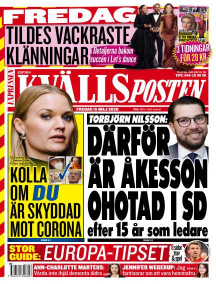 Kvällsposten May 15, 2020 00:00