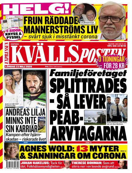 Kvällsposten May 23, 2020 00:00