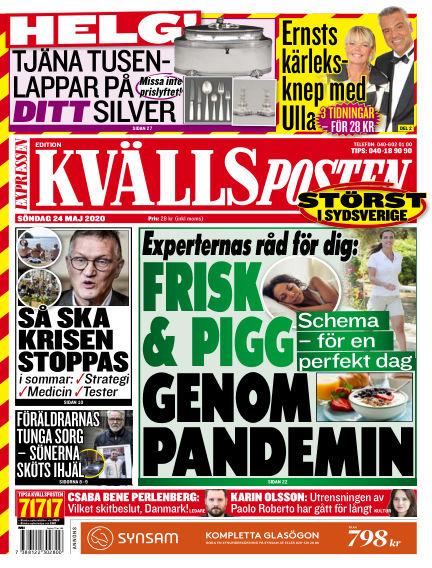 Kvällsposten May 24, 2020 00:00