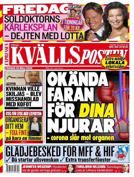 Kvällsposten May 29, 2020 00:00
