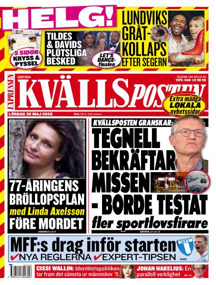 Kvällsposten May 30, 2020 00:00
