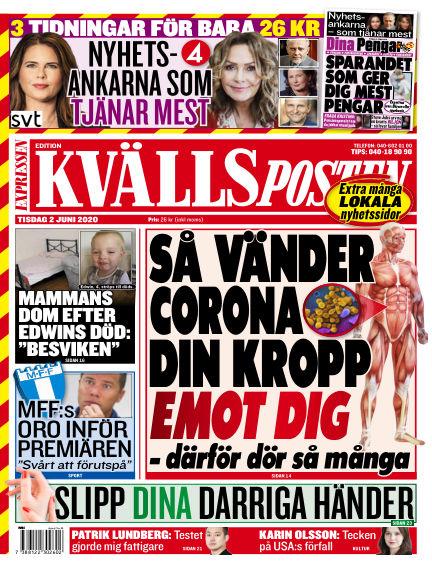 Kvällsposten June 02, 2020 00:00