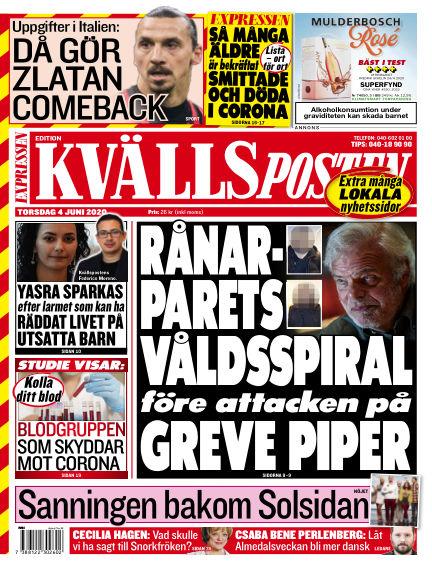 Kvällsposten June 04, 2020 00:00