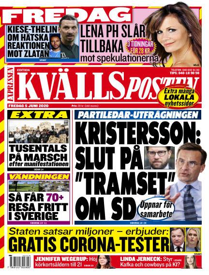 Kvällsposten June 05, 2020 00:00