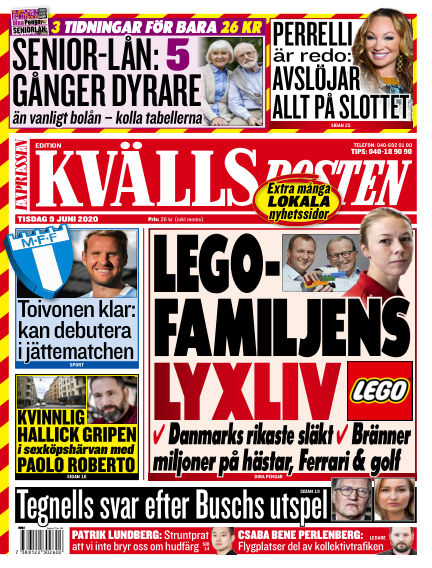 Kvällsposten June 09, 2020 00:00