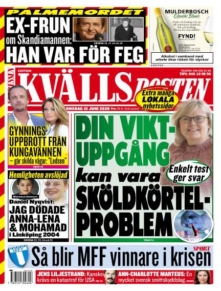 Kvällsposten June 10, 2020 00:00
