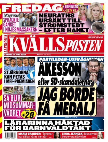 Kvällsposten June 12, 2020 00:00