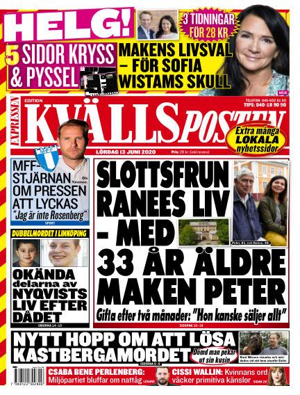 Kvällsposten June 13, 2020 00:00