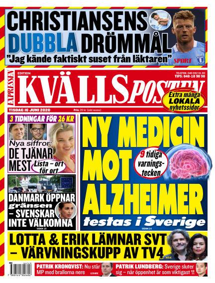 Kvällsposten June 16, 2020 00:00