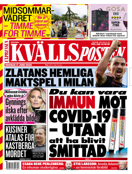 Kvällsposten June 17, 2020 00:00
