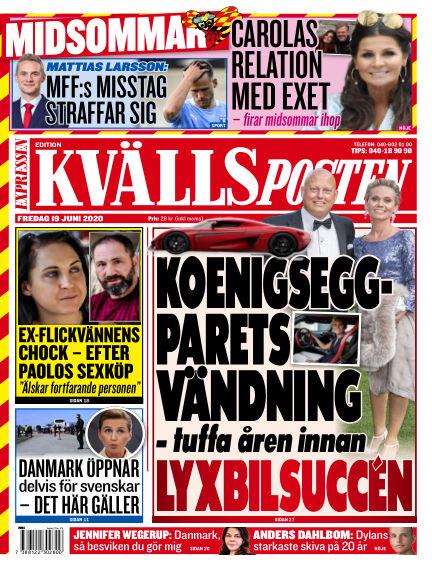 Kvällsposten June 19, 2020 00:00