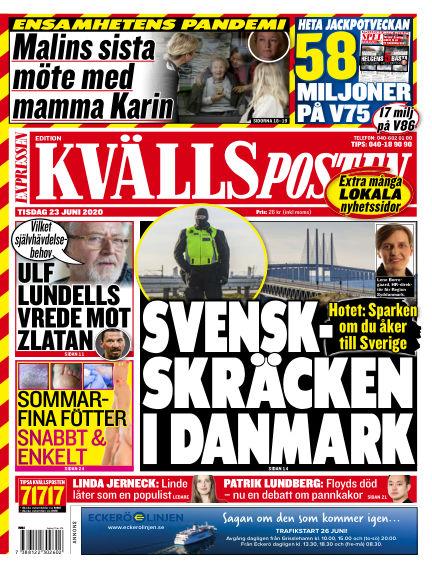 Kvällsposten June 23, 2020 00:00