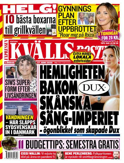 Kvällsposten June 27, 2020 00:00
