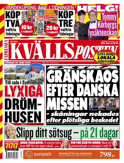 Kvällsposten June 28, 2020 00:00