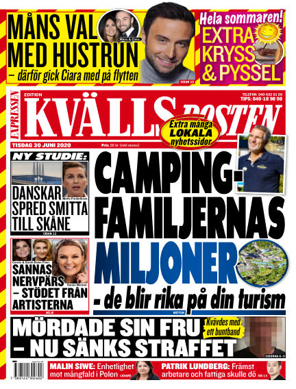 Kvällsposten June 30, 2020 00:00