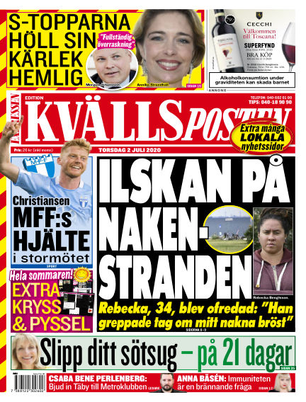 Kvällsposten July 02, 2020 00:00