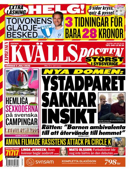 Kvällsposten July 05, 2020 00:00