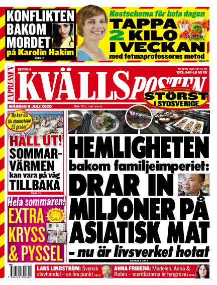 Kvällsposten July 06, 2020 00:00