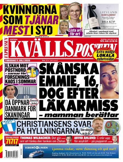 Kvällsposten July 09, 2020 00:00