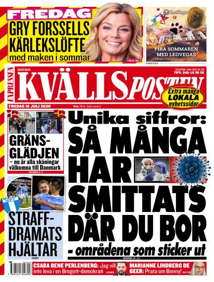 Kvällsposten July 10, 2020 00:00