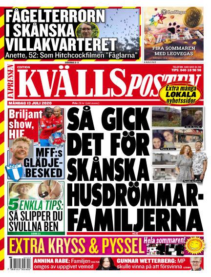 Kvällsposten July 13, 2020 00:00