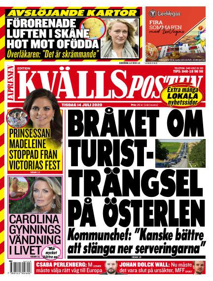 Kvällsposten July 14, 2020 00:00