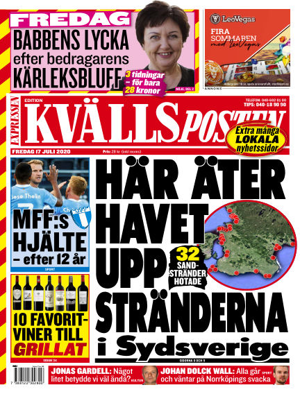 Kvällsposten July 17, 2020 00:00