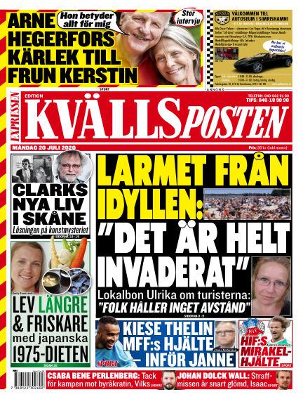 Kvällsposten July 20, 2020 00:00