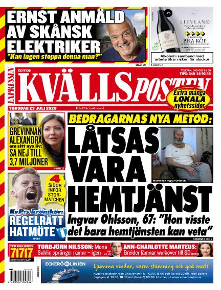 Kvällsposten July 23, 2020 00:00