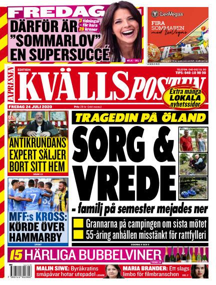 Kvällsposten July 24, 2020 00:00