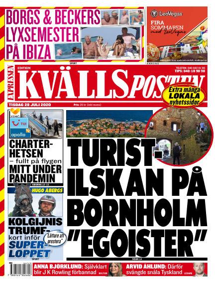 Kvällsposten July 28, 2020 00:00