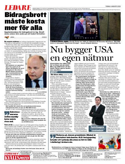 Kvällsposten August 04, 2020 00:00