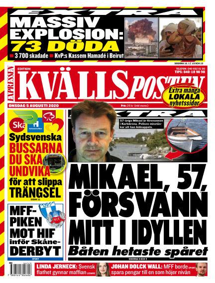 Kvällsposten August 05, 2020 00:00