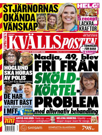 Kvällsposten August 09, 2020 00:00