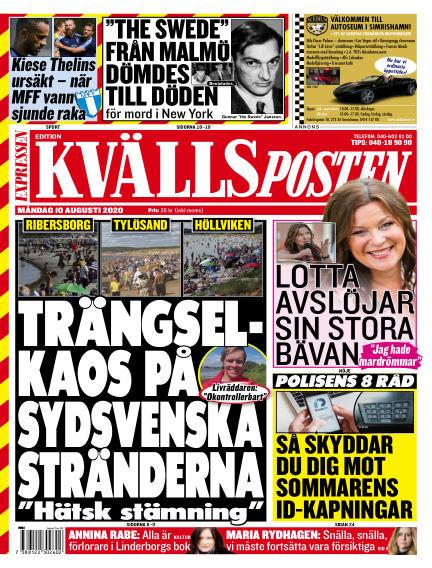Kvällsposten August 10, 2020 00:00