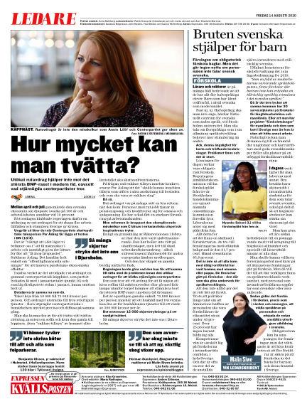 Kvällsposten August 14, 2020 00:00