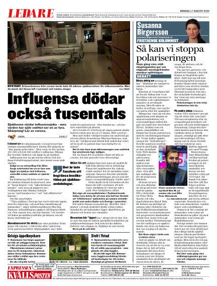 Kvällsposten August 17, 2020 00:00