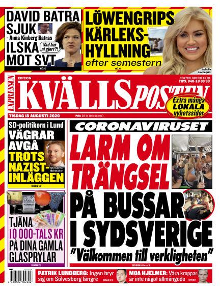 Kvällsposten August 18, 2020 00:00