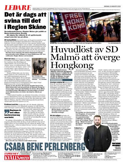 Kvällsposten August 19, 2020 00:00