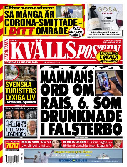 Kvällsposten August 20, 2020 00:00