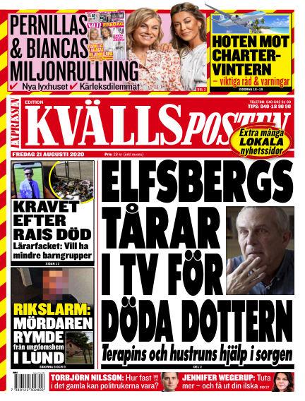 Kvällsposten August 21, 2020 00:00
