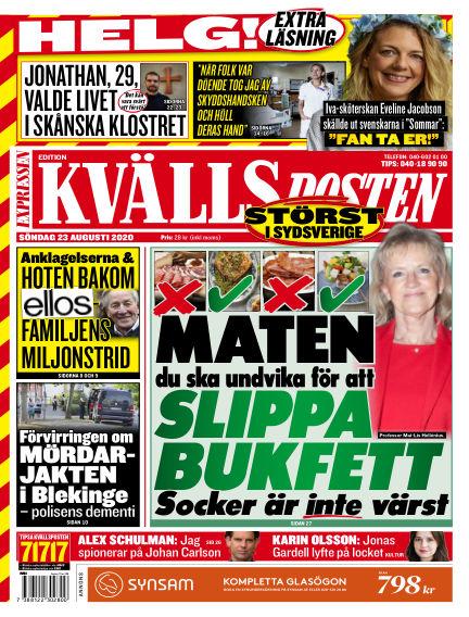 Kvällsposten August 23, 2020 00:00